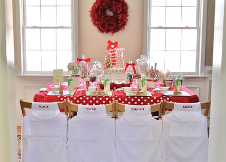 Ideas para fiestas de cumplea os para ni as soniasantabaya for Christmas party ideas for small office